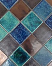 Potter's Loft - Moroccan Blend - Jade Green, Blue Lapis, Burnt Umber Metallic, Vintage Sterling Metallic